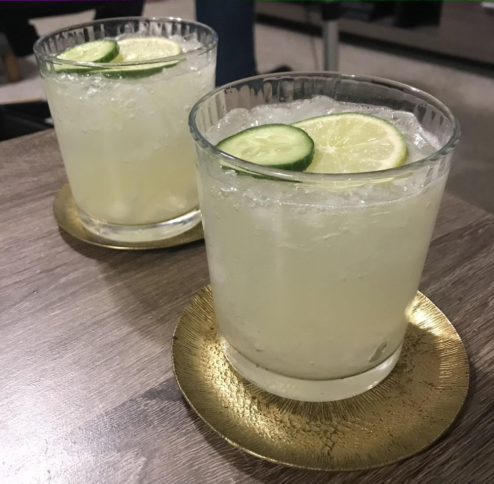 Cucumber Lime Sour & Blueberry Lemonade - image 1 - student project