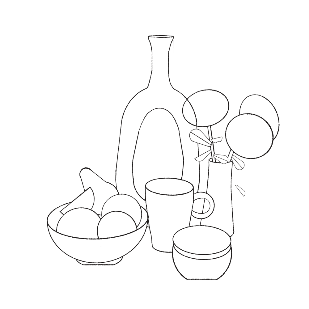 Still life with roses - image 2 - student project