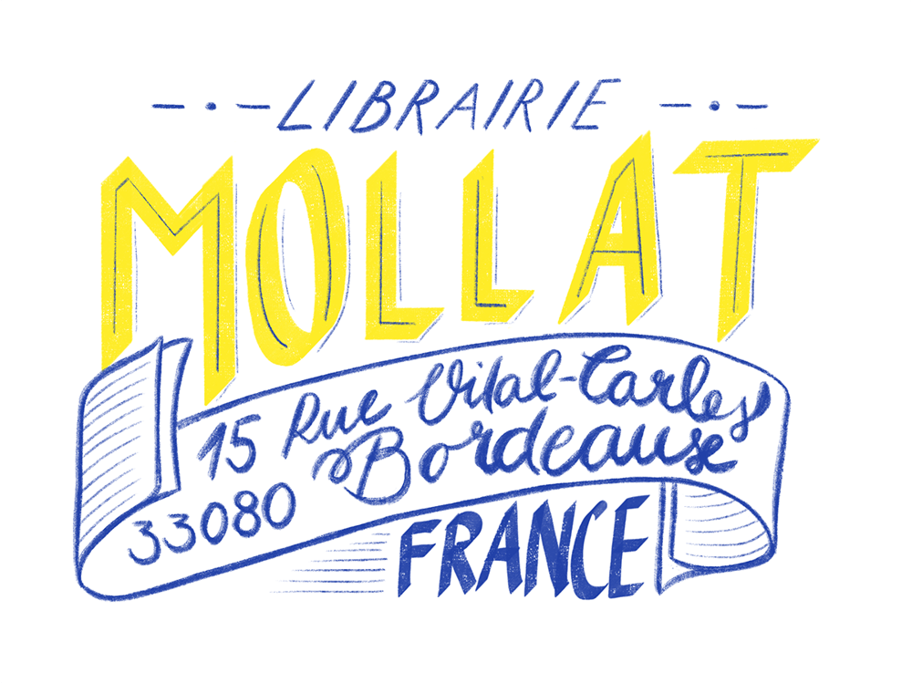 French Library - a hand lettering project - image 4 - student project