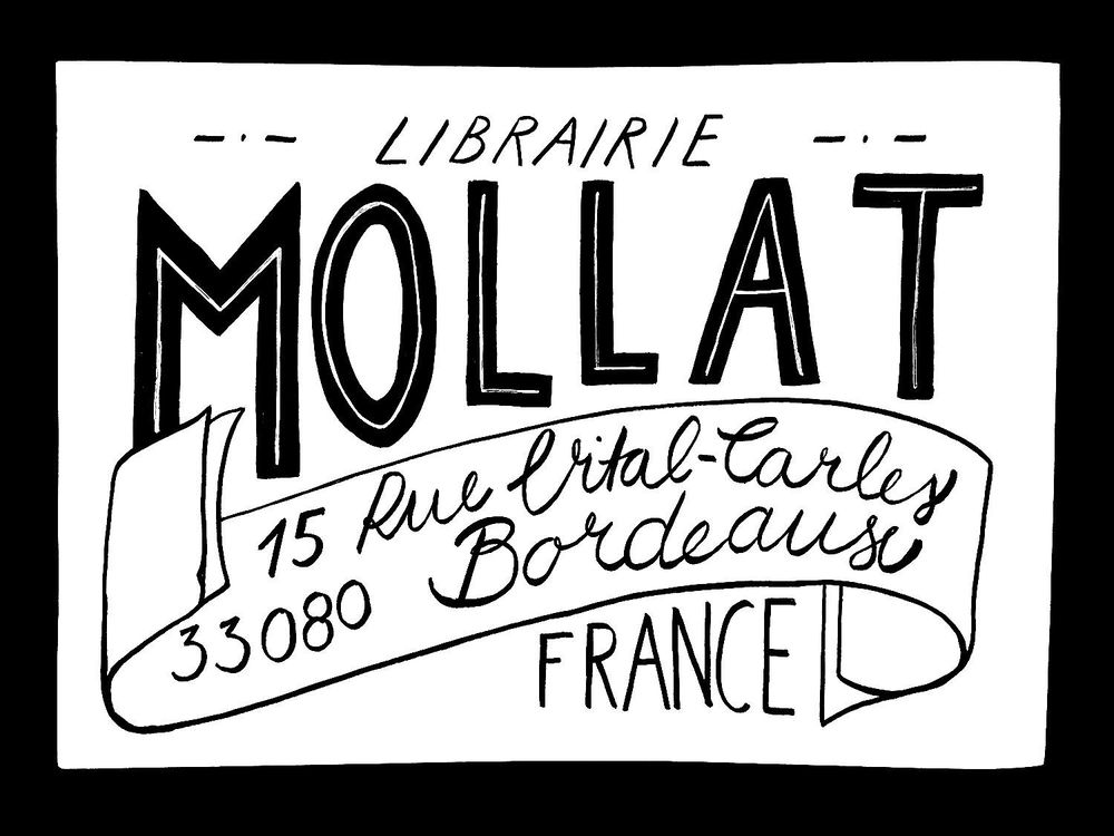 French Library - a hand lettering project - image 3 - student project