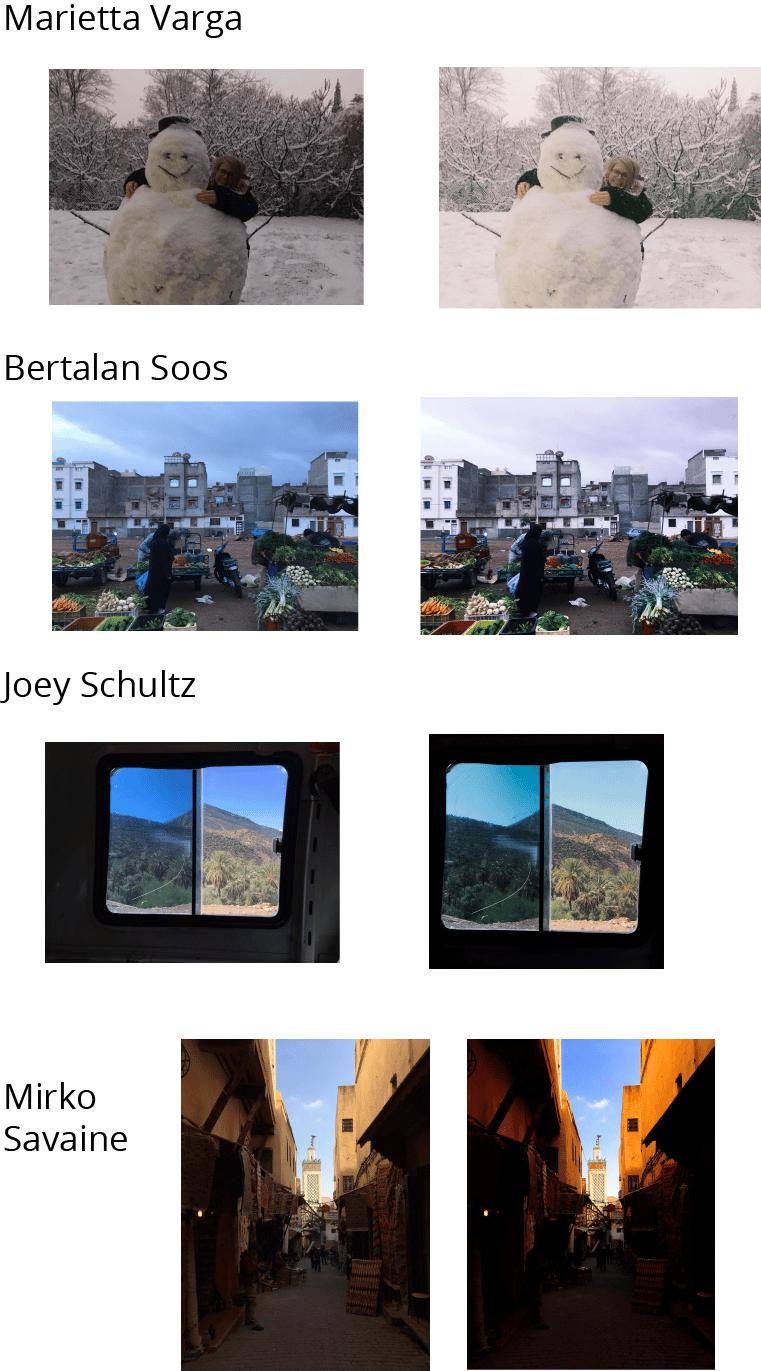 Photo editing like my inspiration board - image 2 - student project