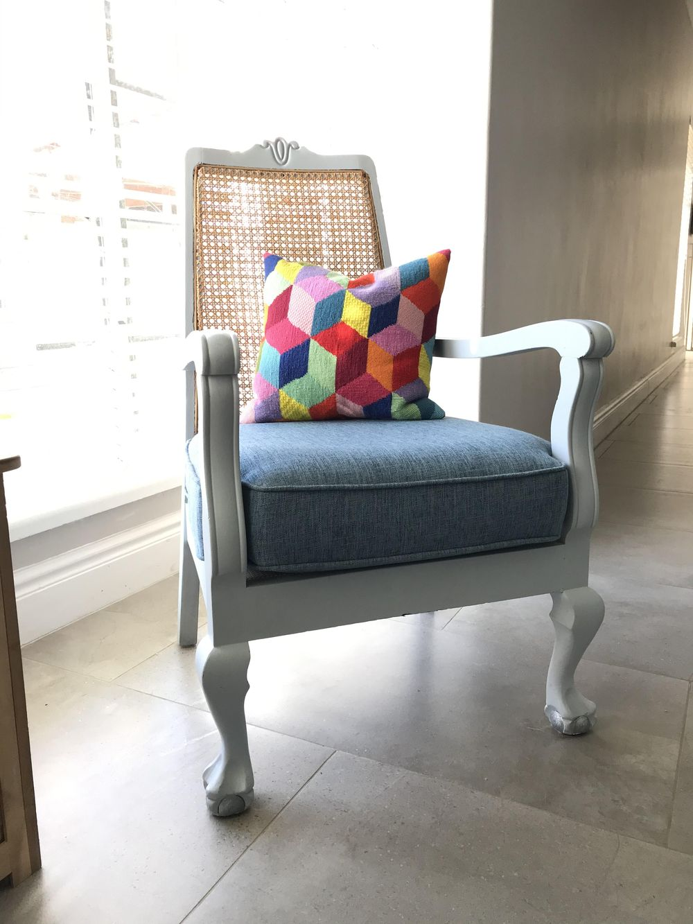 Chair makeover - image 2 - student project