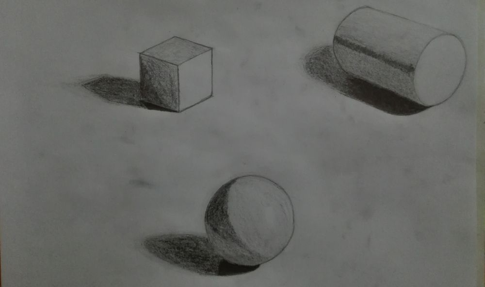 Shading Fundamentals / Drawing with Dramatic Light and Shadow - image 1 - student project