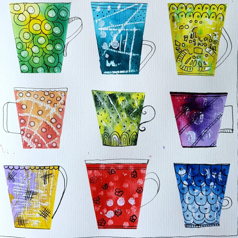 Watercolor field trip - image 1 - student project