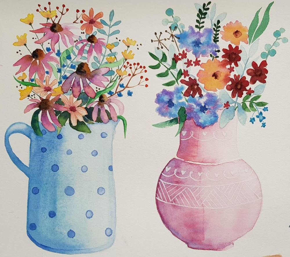 Flower vase 1 - image 2 - student project