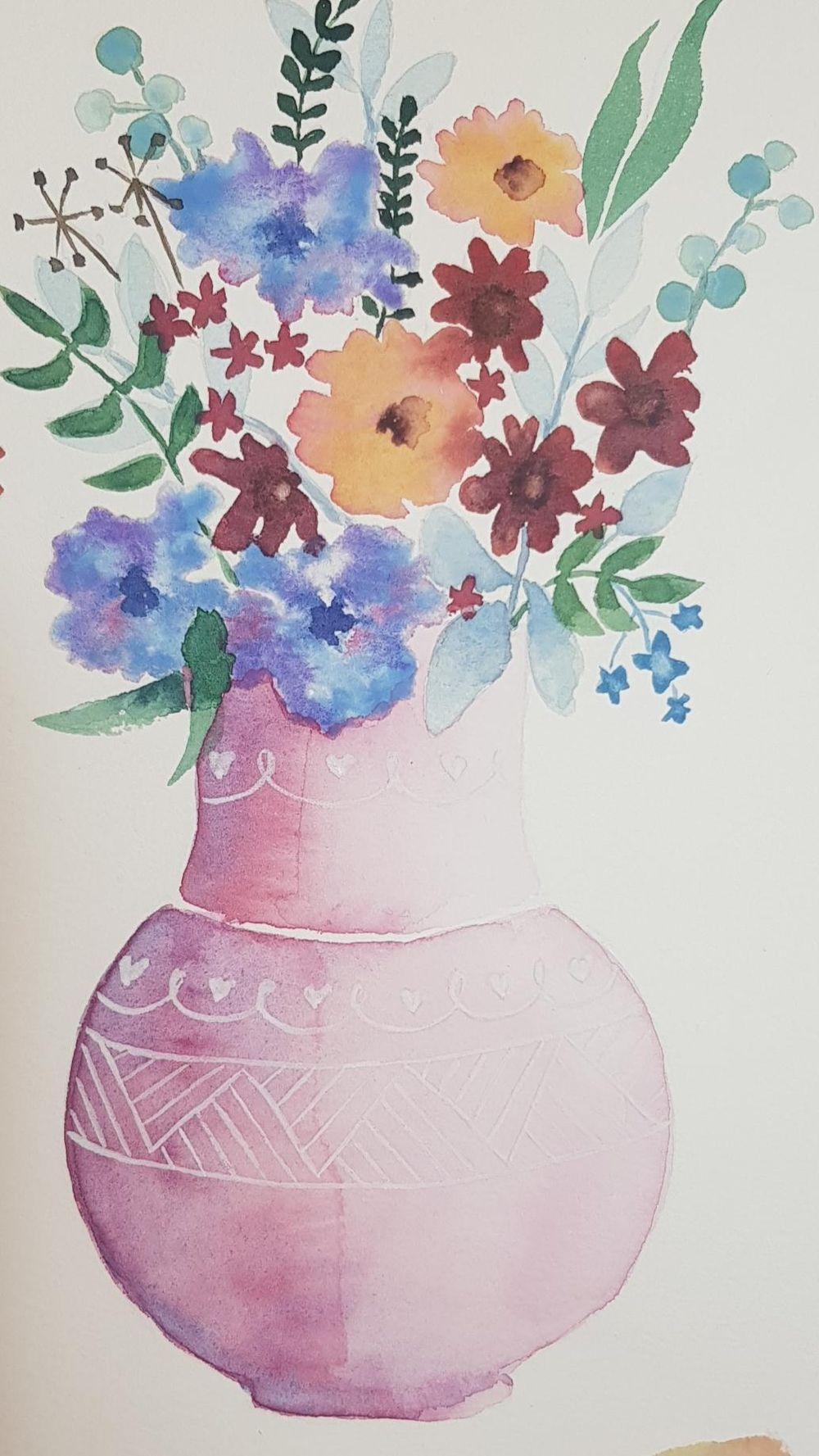 Flower vase 2 - image 1 - student project