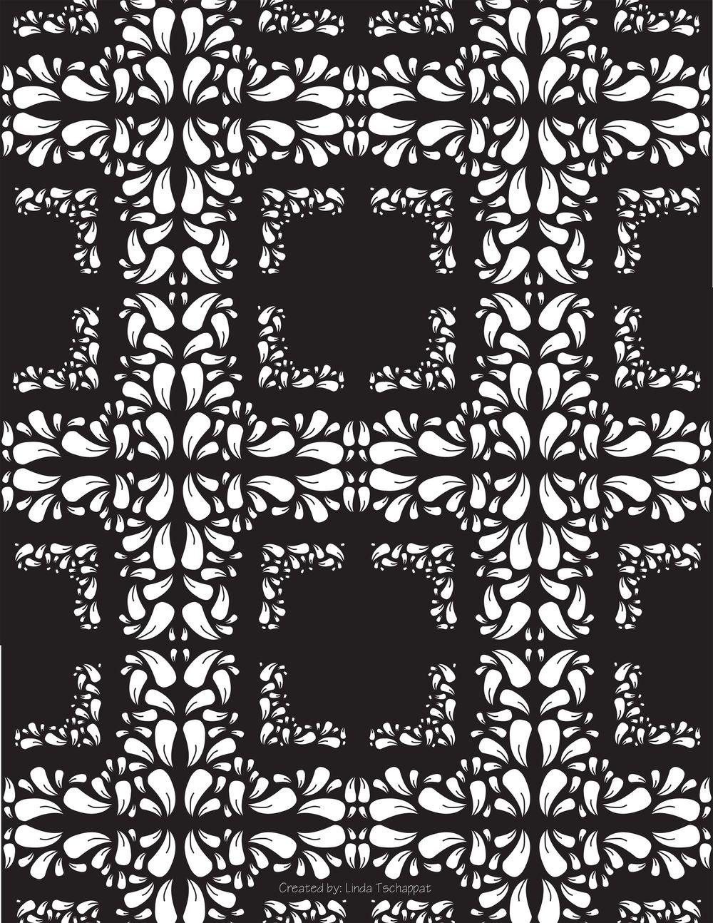 Damask Pattern - image 1 - student project