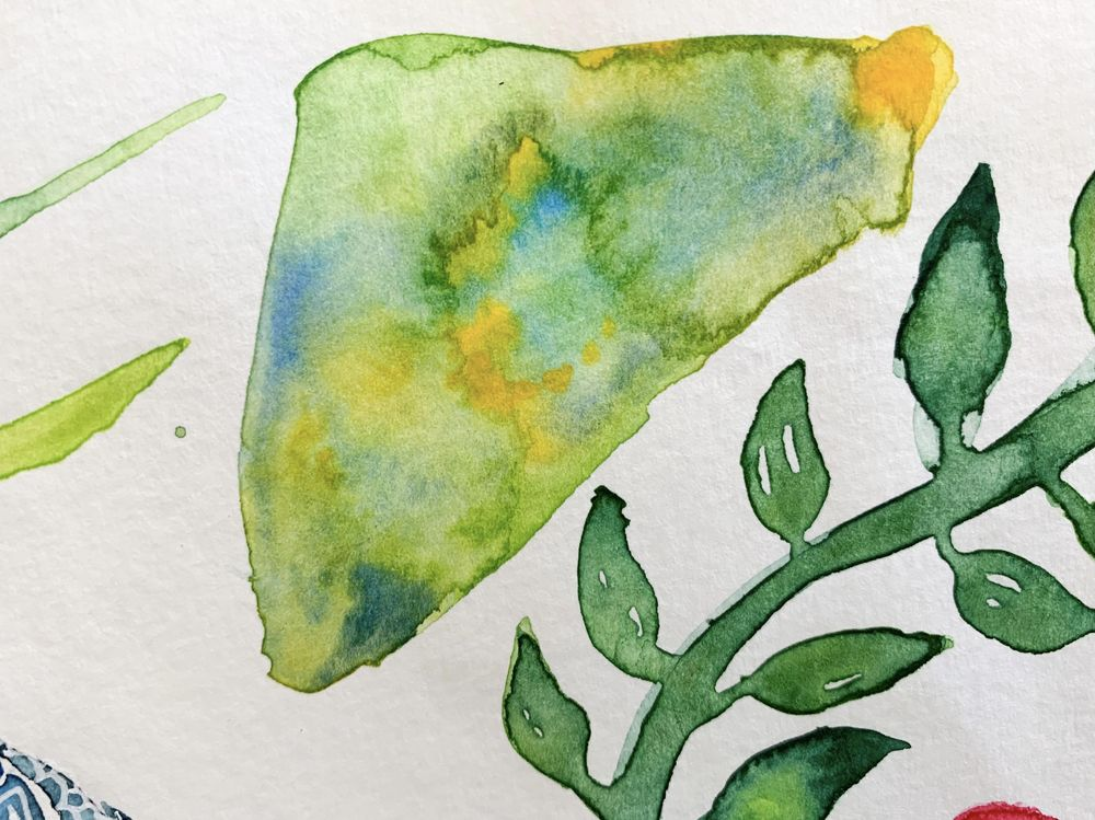 Watercolor Blooms - image 2 - student project