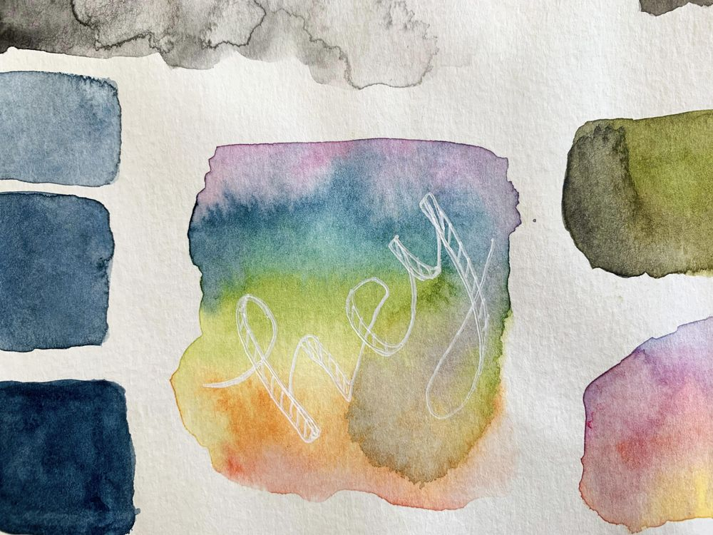 Watercolor Blooms - image 6 - student project