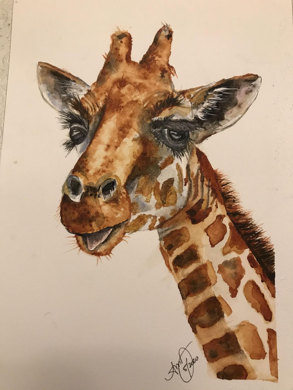 wc giraffe 1 & 2 - image 2 - student project