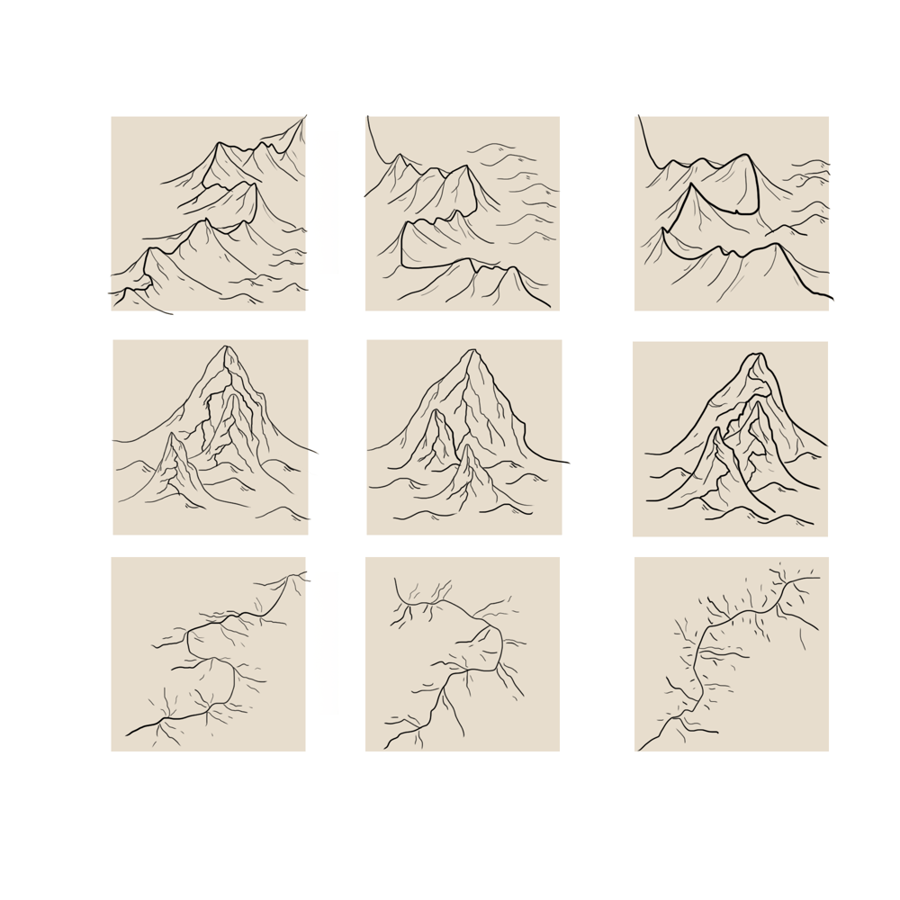 Map Design Process - image 2 - student project
