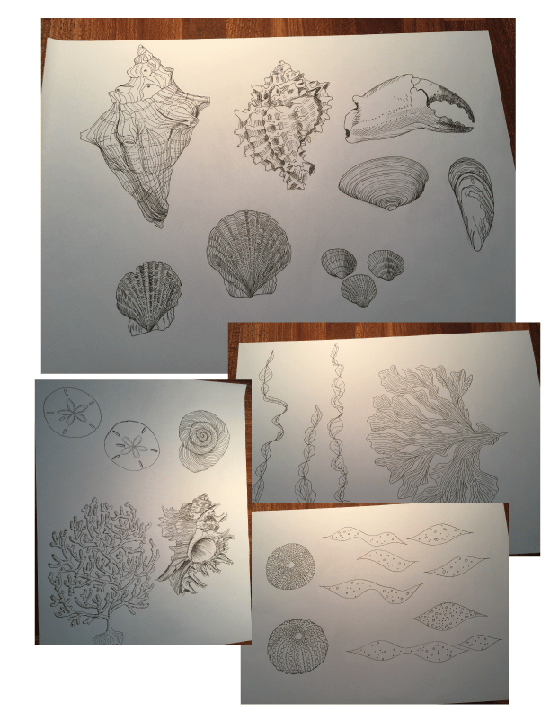 3 focal point prints in 3 weeks: Christmas Creatures, Sea Treasures & Auburn Alley - image 7 - student project