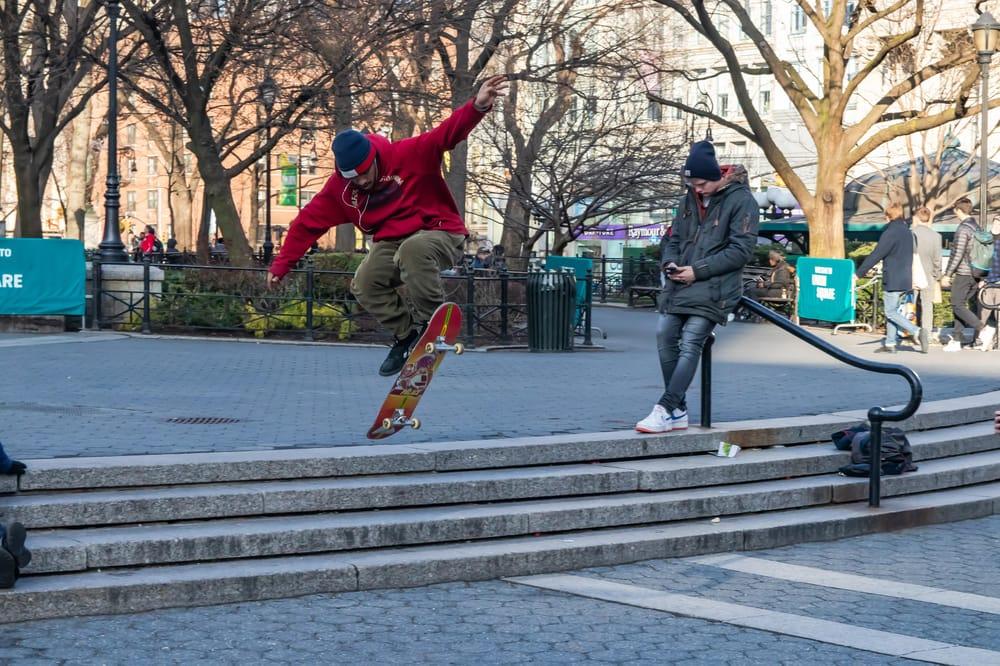 Freeze Motion Skater - image 1 - student project