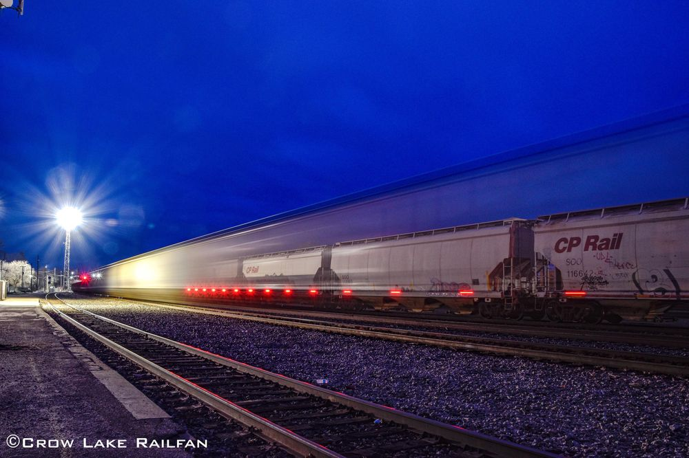 Canadian Pacific Smiths Falls yard - image 1 - student project