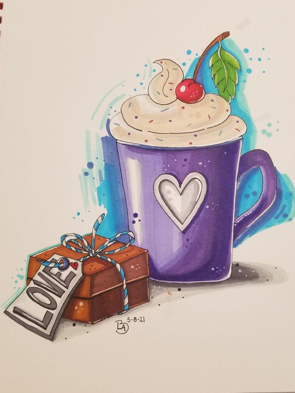 Purple Mug - image 1 - student project