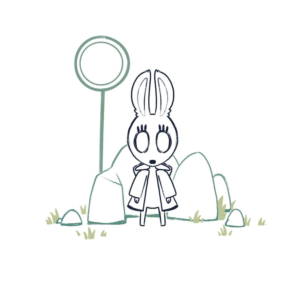 Creepy Bunny - image 1 - student project