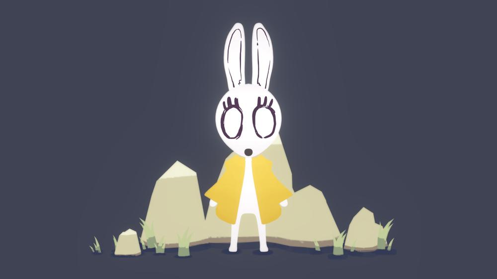 Creepy Bunny - image 3 - student project