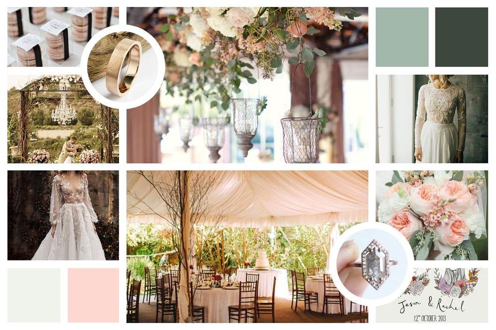 Cara's Wedding Mood Board - image 1 - student project