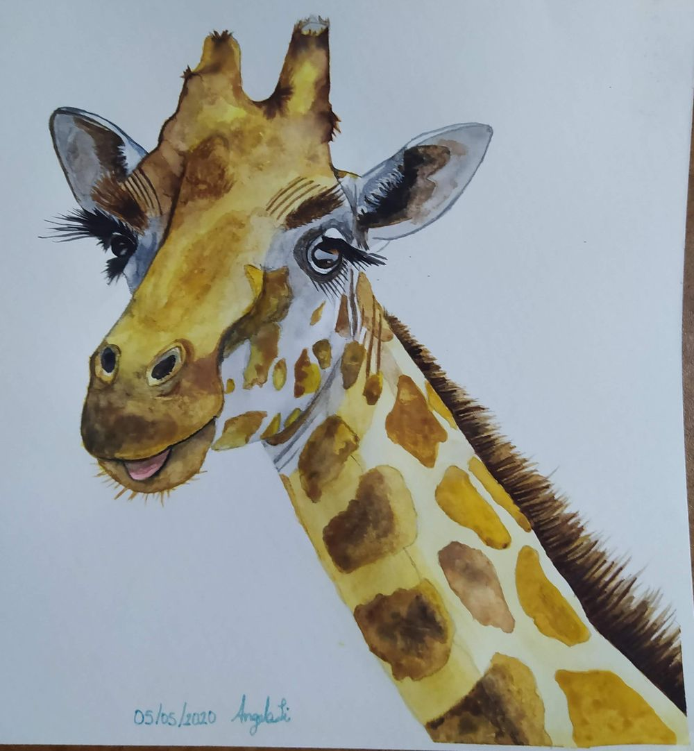 My girafe - image 1 - student project