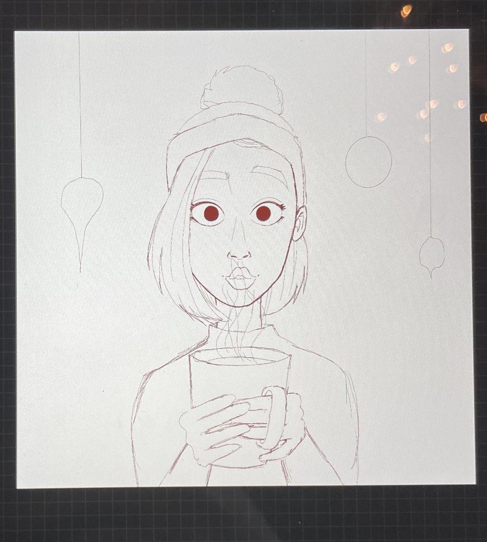 Procreate illustration - image 1 - student project