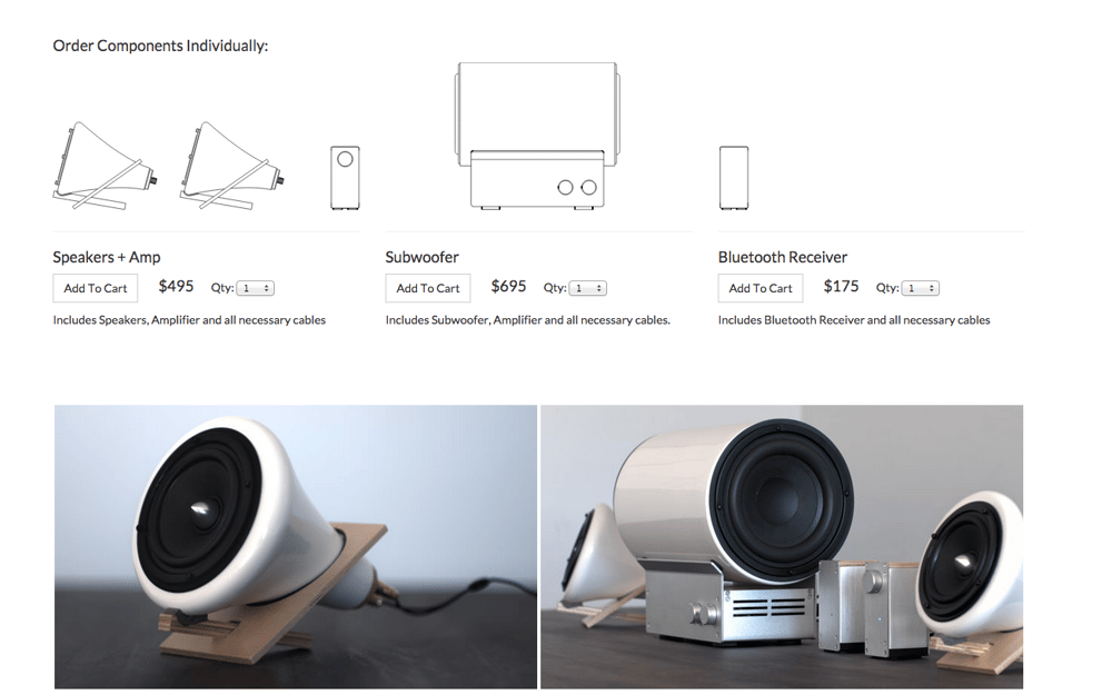 Sample Project: Ceramic Speakers - image 2 - student project