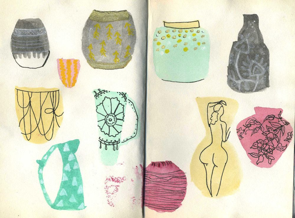 Vases and swimsuits - image 1 - student project