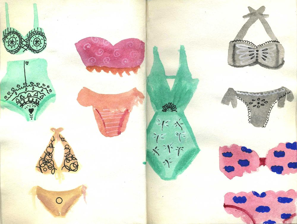 Vases and swimsuits - image 2 - student project