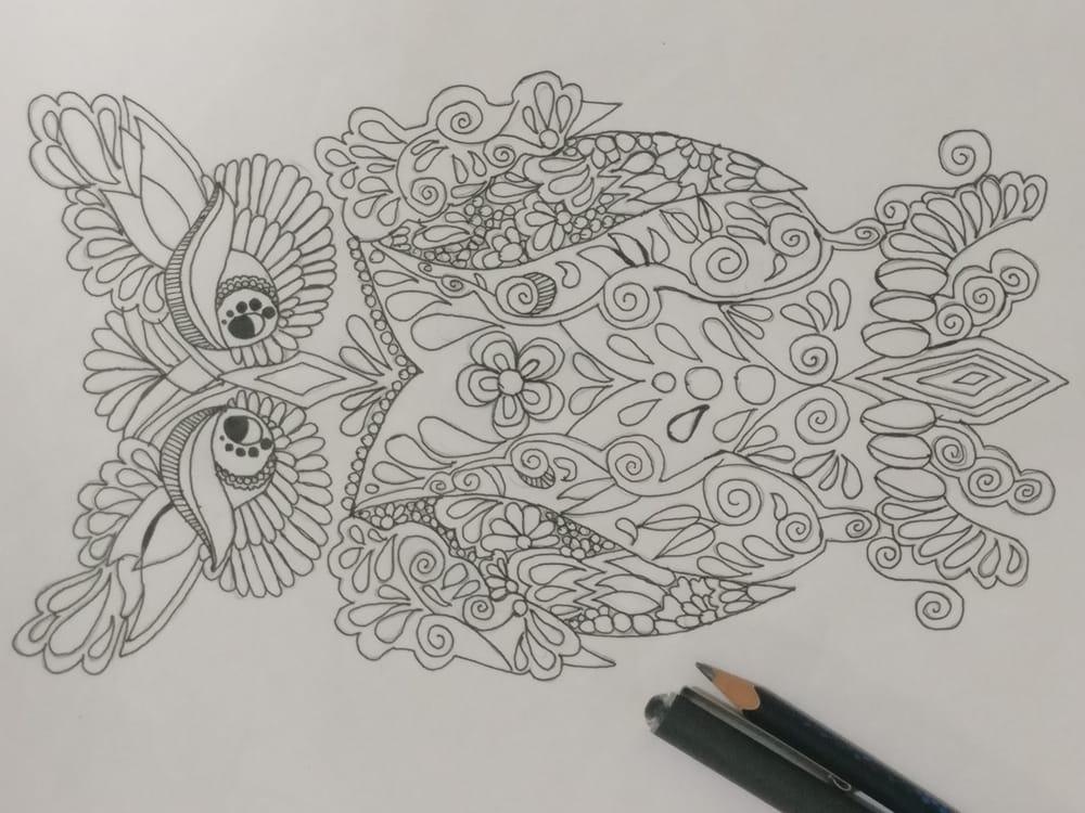 Owl Mandala - Hoomyrah Rambhia - image 1 - student project
