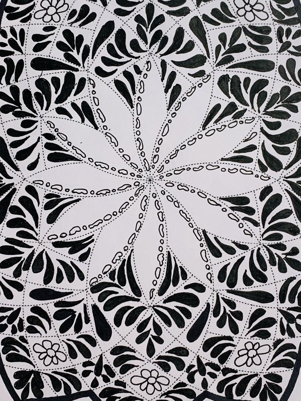 Mandala Art - Hoomyrah Rambhia - image 1 - student project
