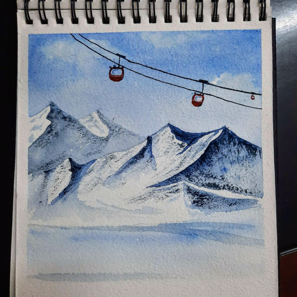snowy landscapes - image 4 - student project