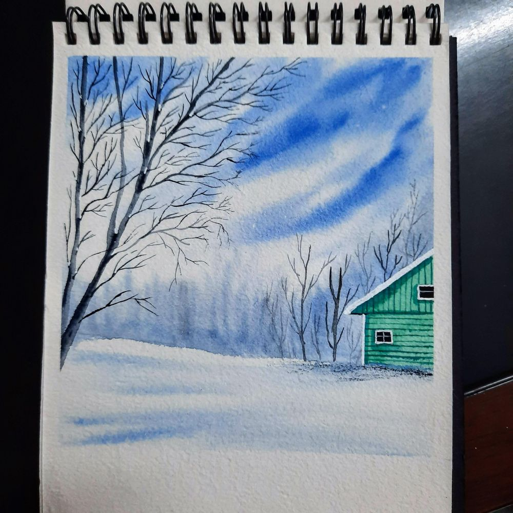 snowy landscapes - image 2 - student project