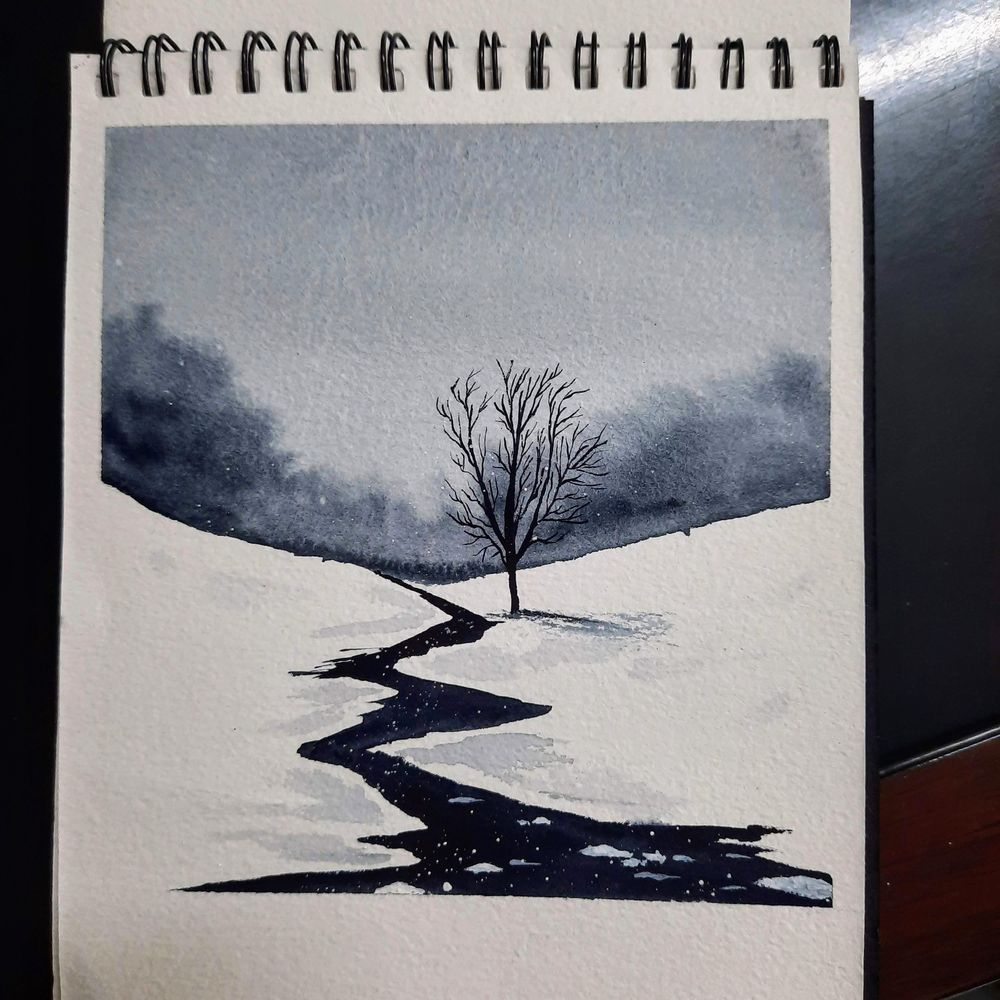 snowy landscapes - image 1 - student project