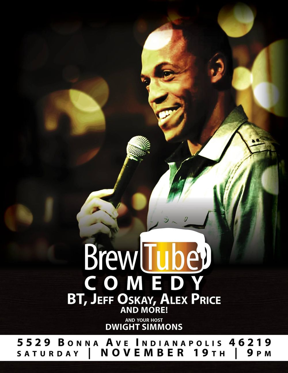 BrewTube Comedy - image 1 - student project