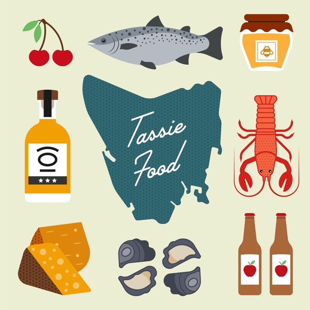 Tassie food - image 2 - student project