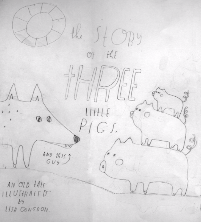The Story of the Three Little Pigs - image 2 - student project