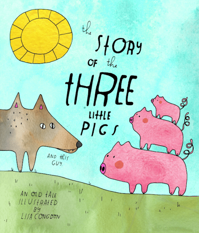 The Story of the Three Little Pigs - image 3 - student project
