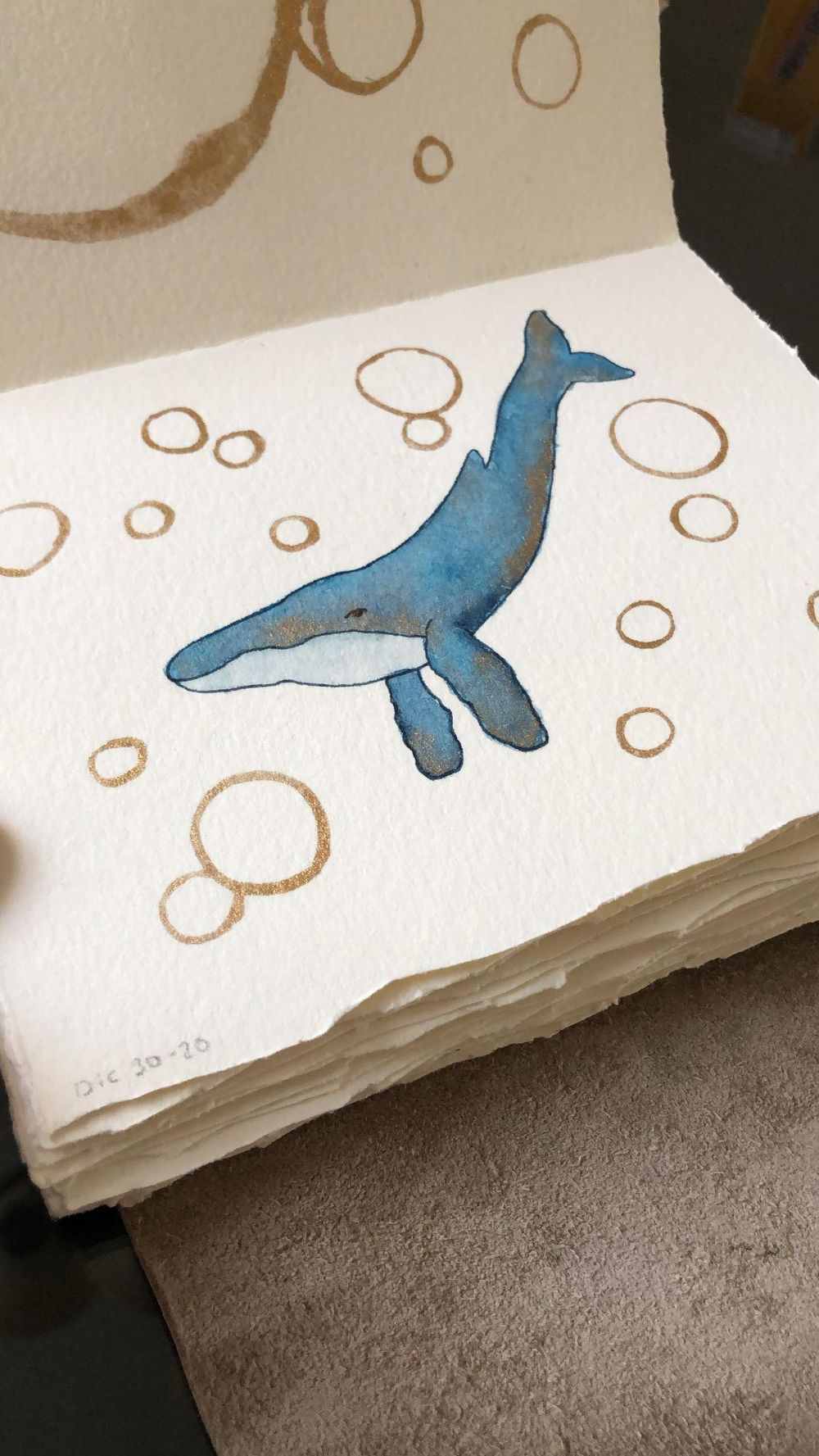 Whale with gold - image 1 - student project