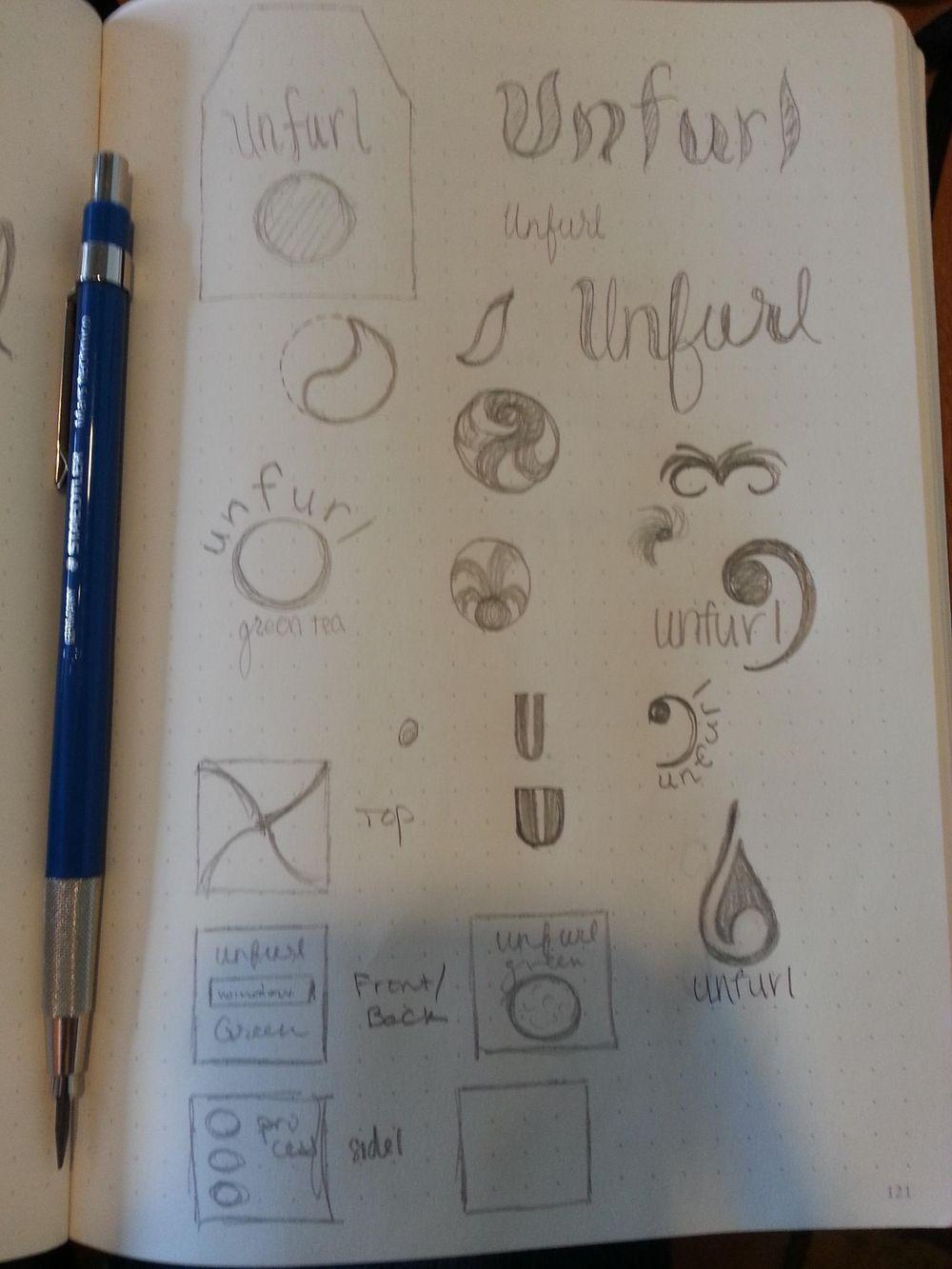 Unfurl: Loose Leaf Tea - image 4 - student project