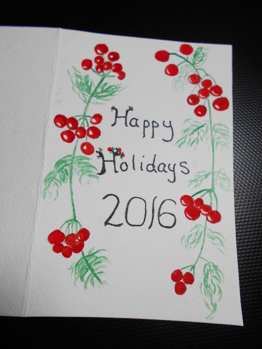 My holiday card - image 1 - student project