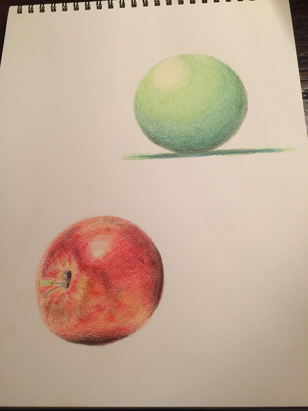 Sphere + Apple - image 1 - student project