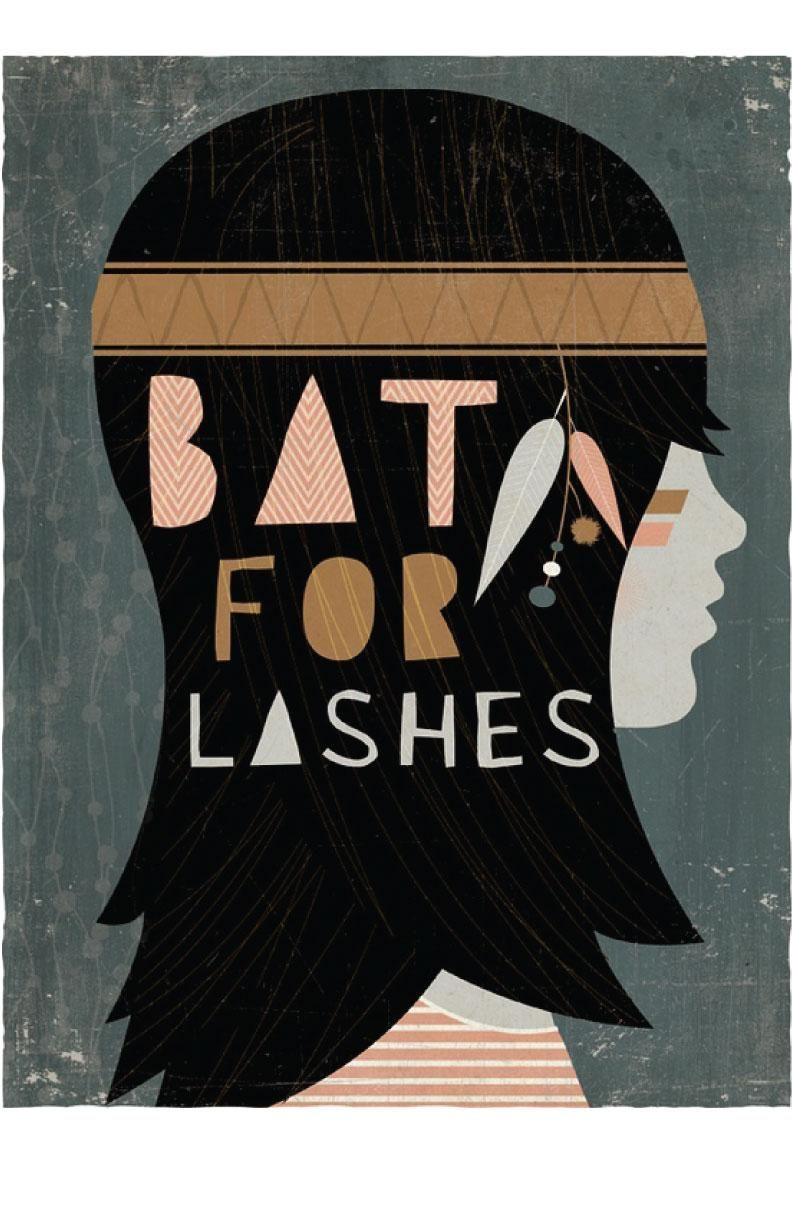 Bat for Lashes - image 2 - student project