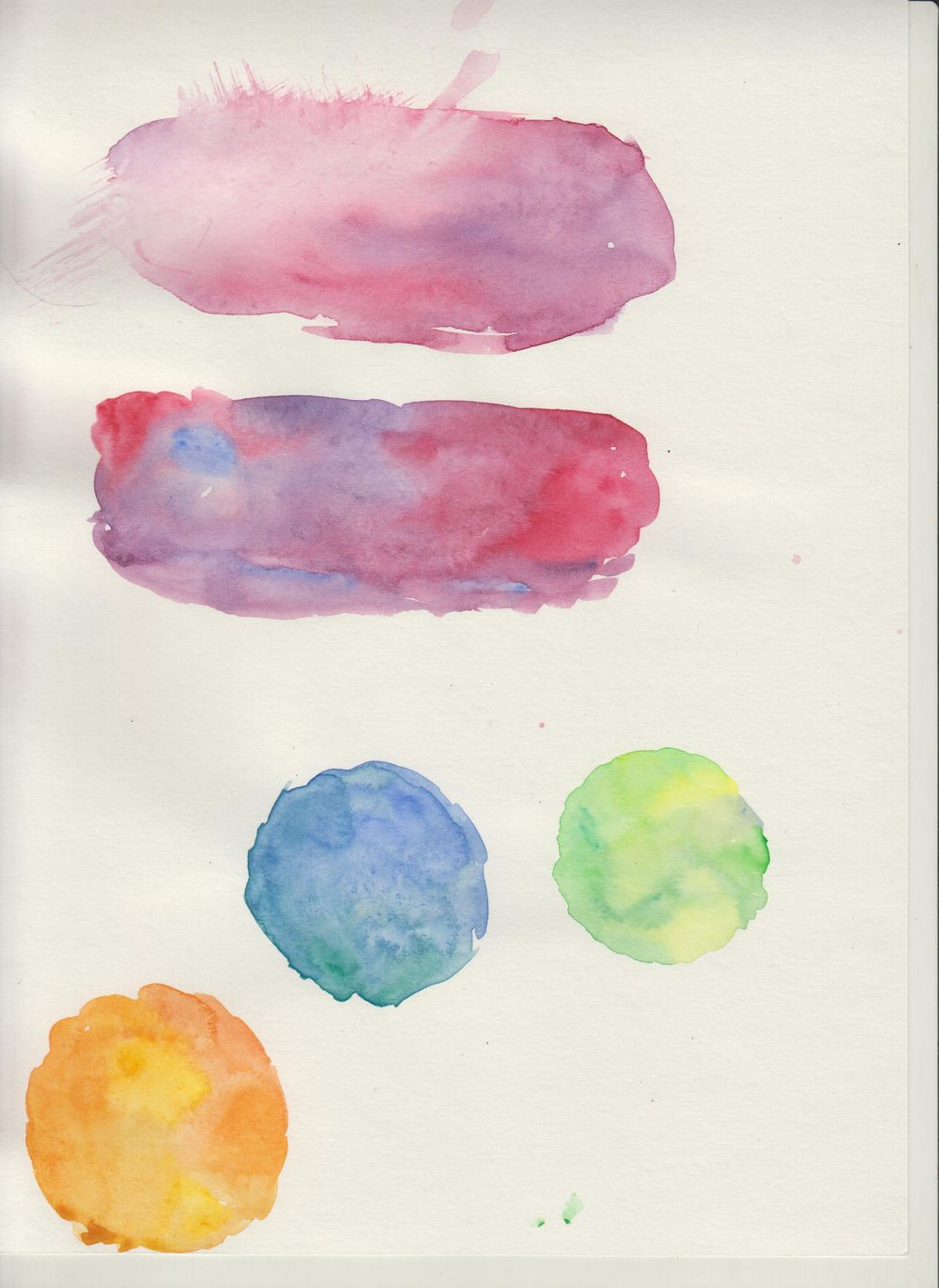 Watercolor textures - image 2 - student project