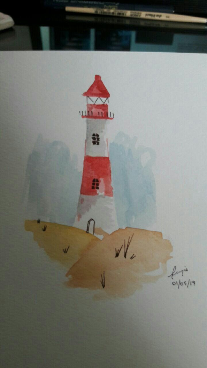 Lighthouse 1 - image 1 - student project