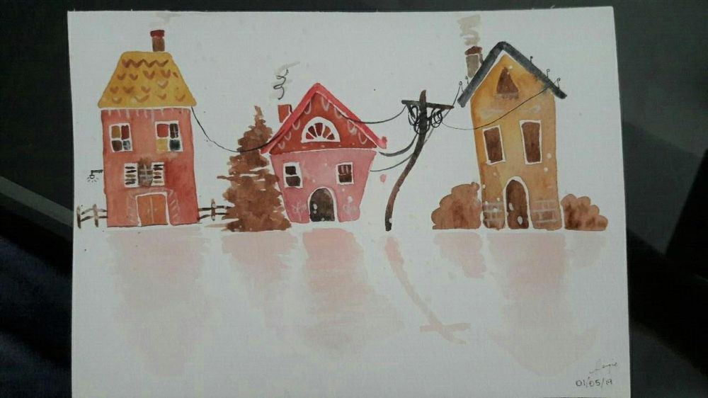 Houses - image 1 - student project