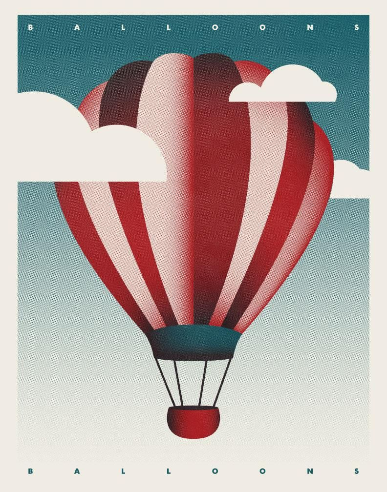 Hot Air Balloon - image 2 - student project