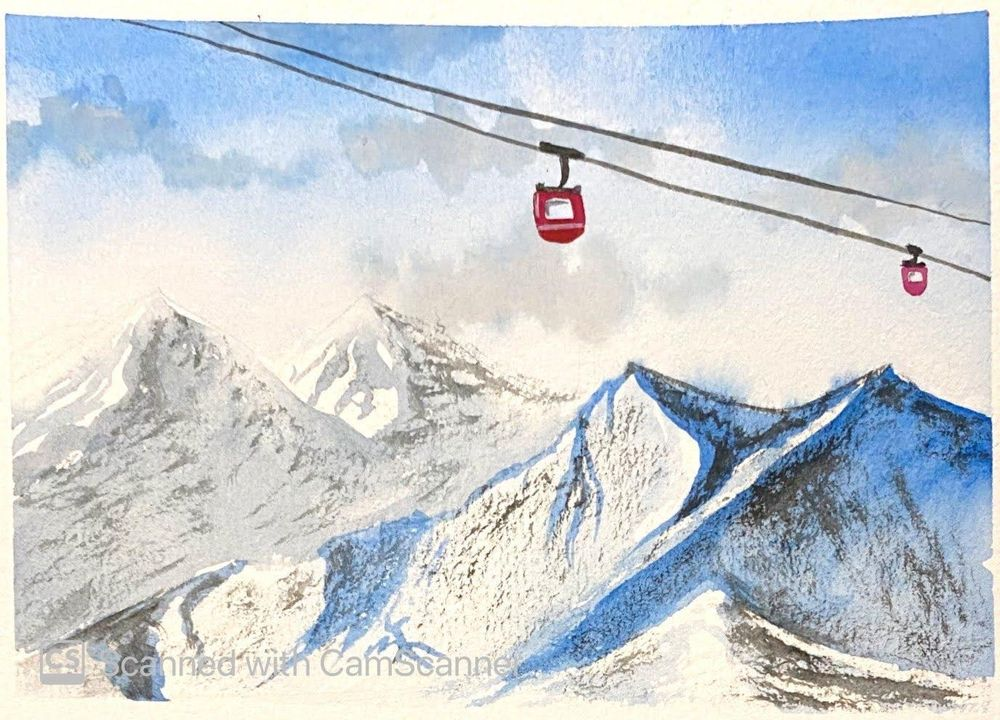 Learnt so much about painting snow - image 3 - student project