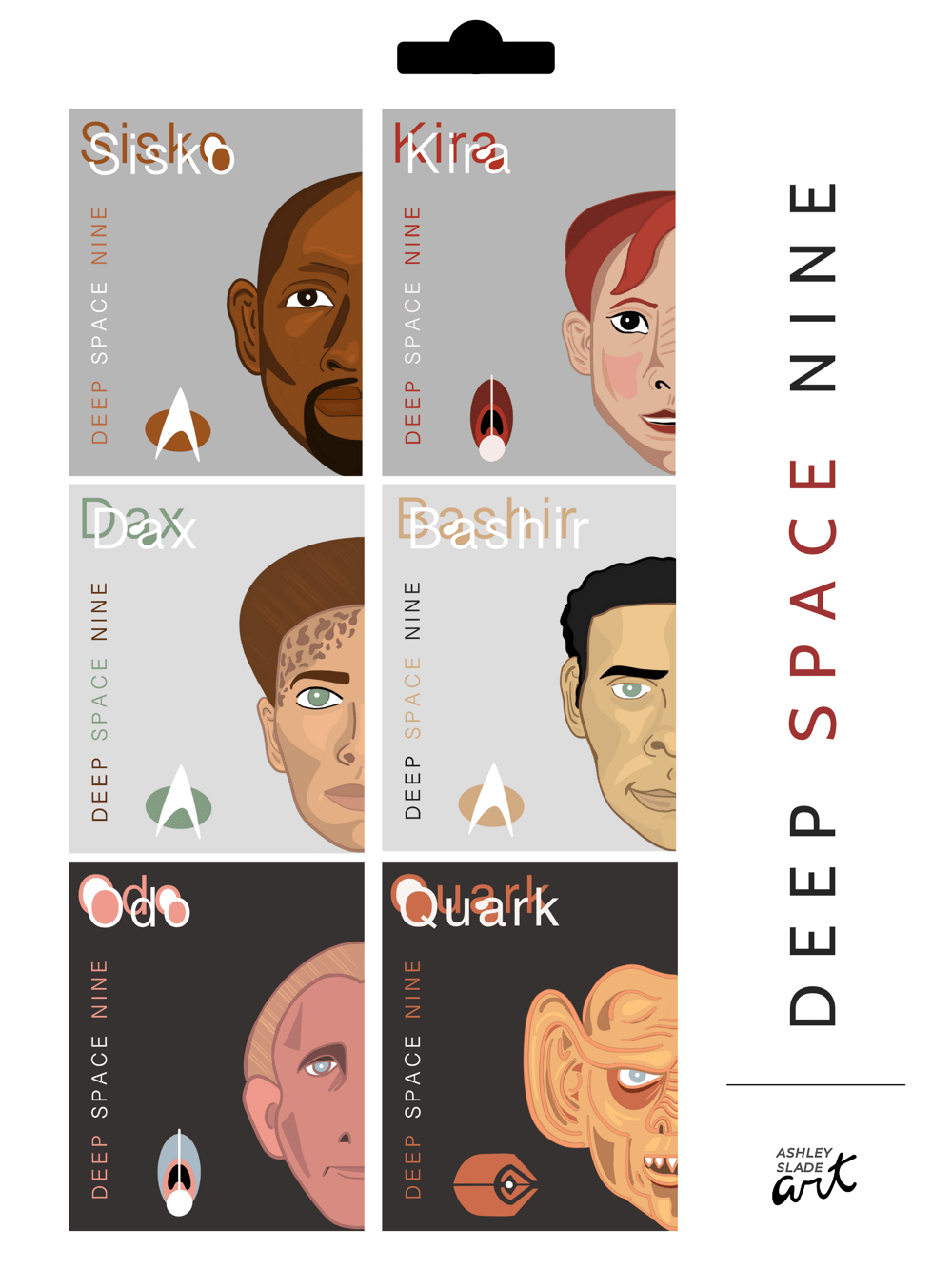 DS9 Posters and Stamps - image 2 - student project