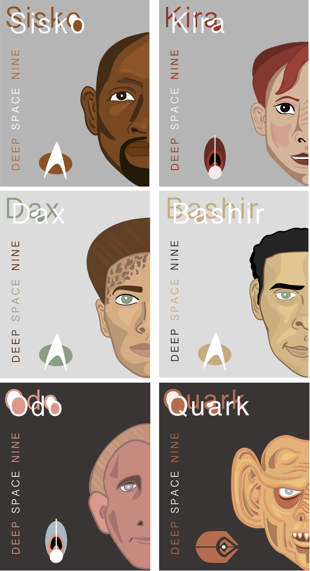 DS9 Posters and Stamps - image 1 - student project
