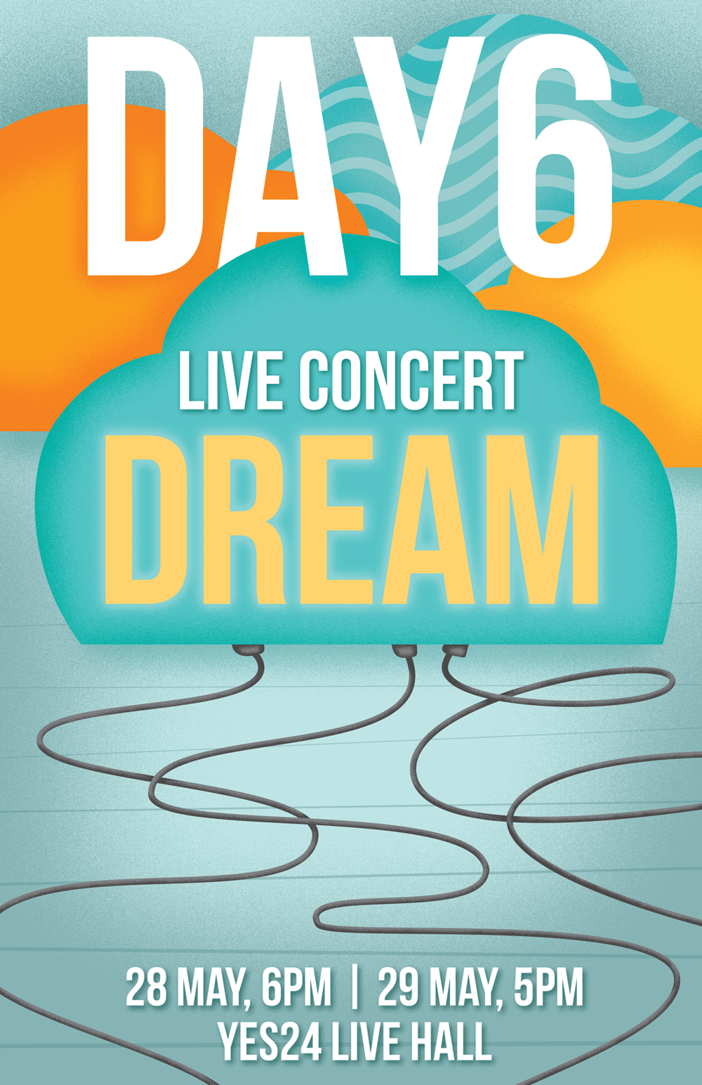 Day6 Gig Poster - image 4 - student project