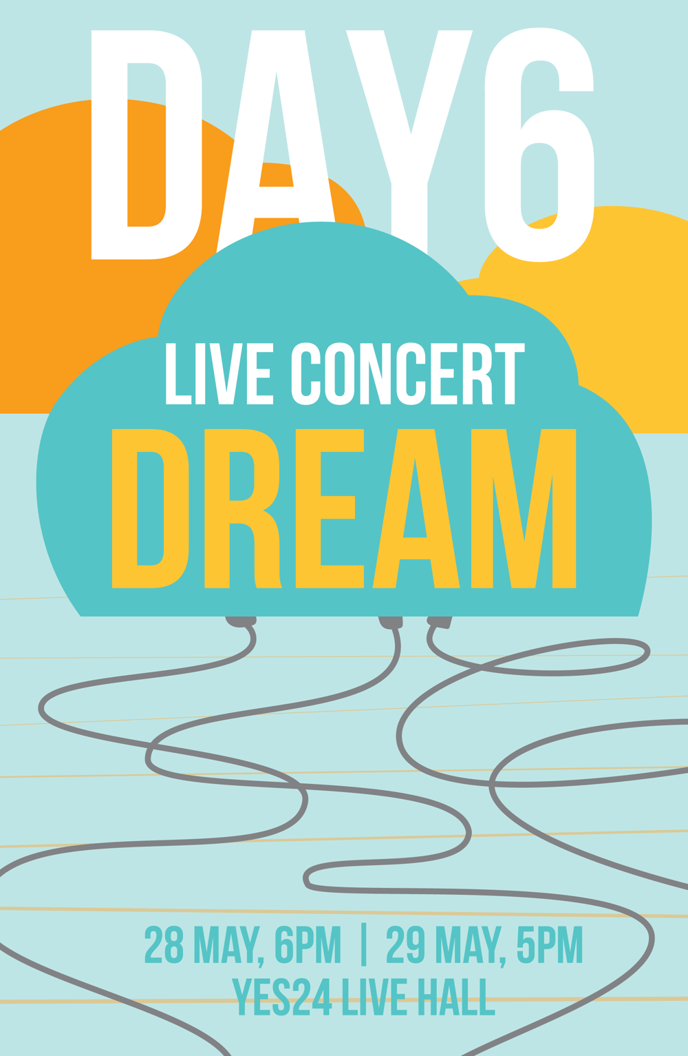 Day6 Gig Poster - image 2 - student project